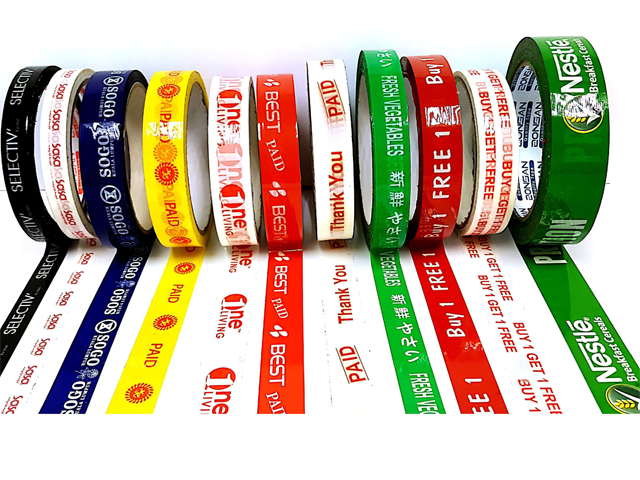 OPP Printed and Color Packaging Tape